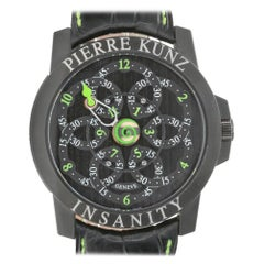 Pierre Kunz G019 Insanity Sport Automatic Movement Black Infinity Looping Dial