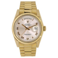 Rolex Day-Date President 18 Karat Rose Gold Watch 18235