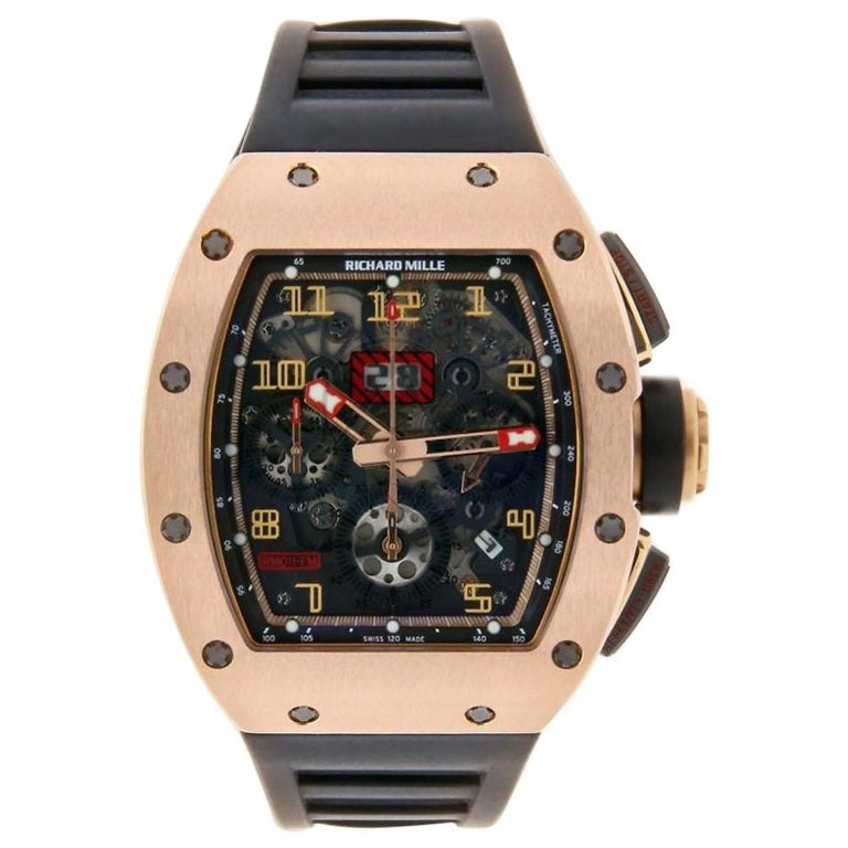 0dfb9537288 Richard Mille Felipe Massa Boutique Edition Flyback Chronograph Watch RM011  For Sale at 1stdibs
