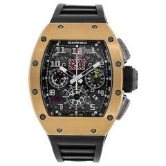 Richard Mille Felipe Massa Flyback Chronograph 18 Karat Gold Titanium RM011