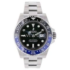Rolex GMT-Master II Steel Watch Ceramic Bezel Watch 116710BLNR