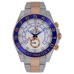 Rolex Yacht-Master II Steel and 18 Karat Rose Gold Watch 116681