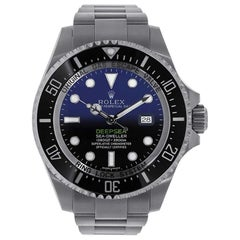 Rolex Sea-Dweller Deepsea D-Blue Dial Stainless Steel Watch 116660