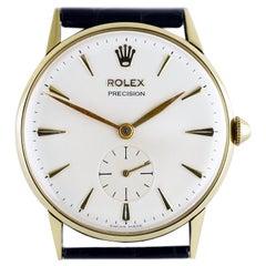 Rolex Precision Gold Wristwatch, circa 1959