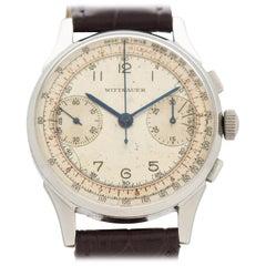 Vintage Wittnauer 2-Register Chronograph Watch, 1950s