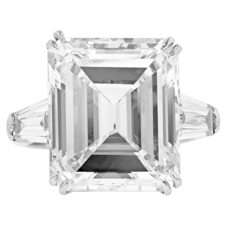 13.61 Carat GIA Certified Diamond Ring For Sale