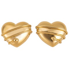 Tiffany & Co. Cupid's Arrow Heart Earrings