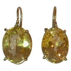 The Gabriella Hanging Stone Earring
