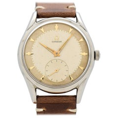 Vintage Omega Reference 2892-2-SC Stainless Steel Watch, 1956
