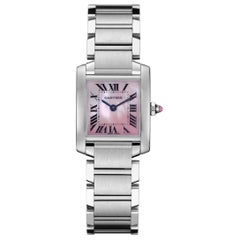 Cartier Tank Française Watch Small Model Steel