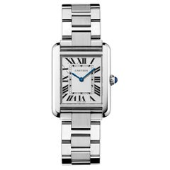 Cartier Tank Solo Watch Small Model Steel