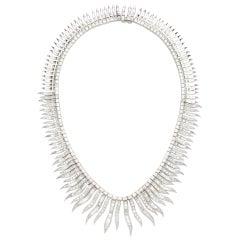 Articulated Diamond Necklace