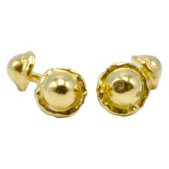 Mahie 22 Karat Yellow Gold Cufflinks