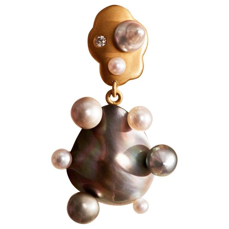Little Man No 1 Earring by Jo Riis-Hansen For Sale