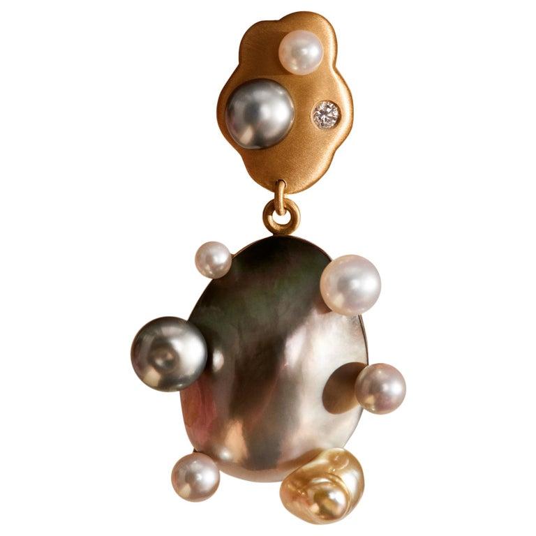 Little Man No 2 Earring by Jo Riis-Hansen For Sale