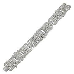 1950s Oscar Heyman Diamond Bracelet