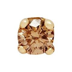 Cognac Diamond Stud Earring (Single) by Allison Bryan