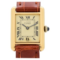 Vintage Cartier Tank Must de Ladies Watch, 1980s