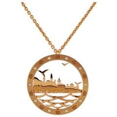 18 Karat Rose Gold Bosphorus Necklace