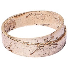 Rose Gold Wrapped Paper Ring by Allison Bryan