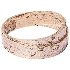 Rose Gold gehüllter Papier Ring von Allison Bryan