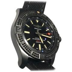 Brand New Breitling Avenger Blackbird 44 Men's Luxury Watch Black Steel