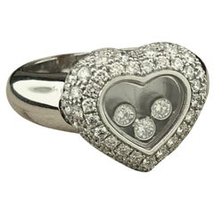Chopard Happy Diamonds White Gold Heart Ring 82/3185-20