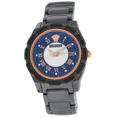 New Versace DV One Glamour Ceramic Diamond Watch