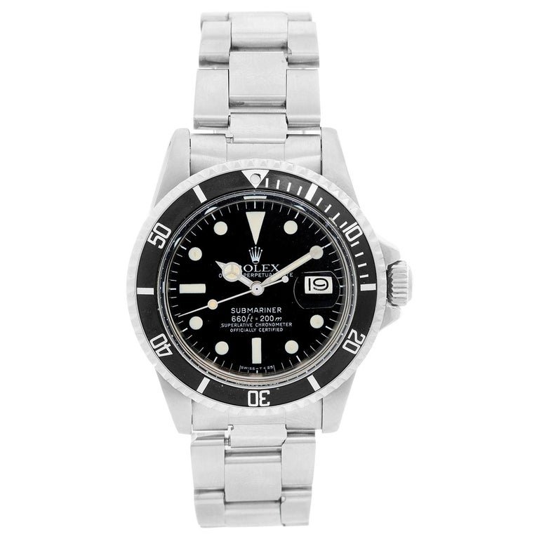 Rolex Submariner 1680 Automatic Men's Watch 1