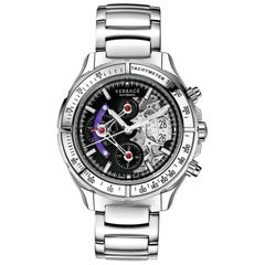 New Versace DV One Skeleton  Limited Ceramic Chronograph Watch