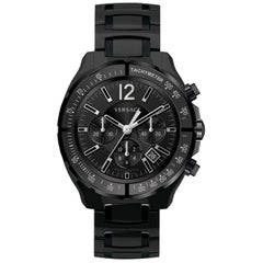 New Men's Versace DV One Chrono Limited Edition PVD Auto Watch