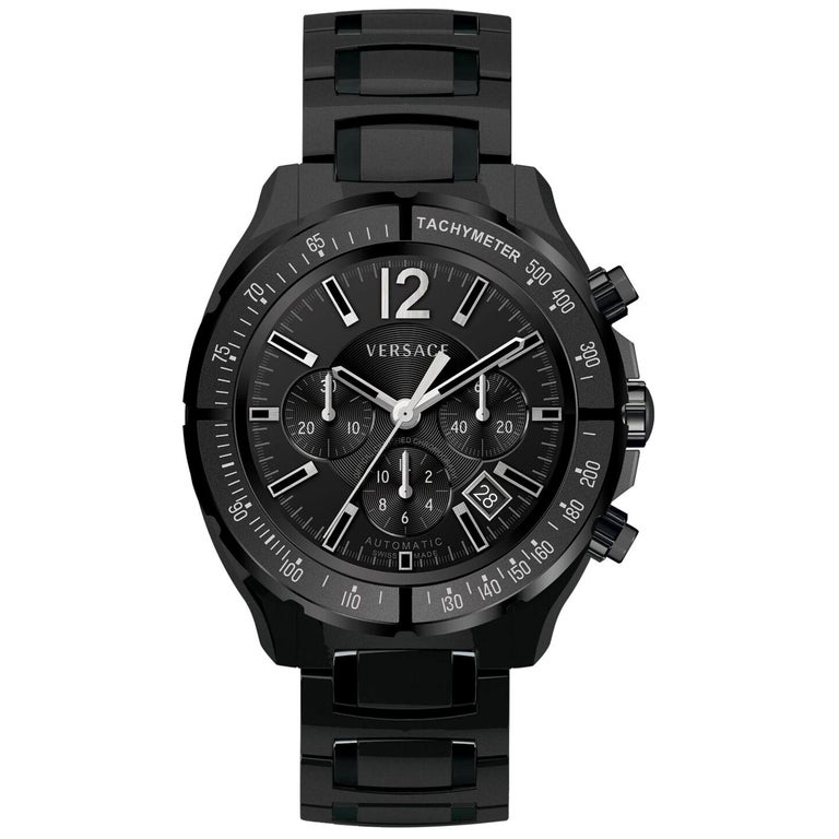 c1b9bf936d9 New Men s Versace DV One Chrono Limited Edition PVD Auto Watch For Sale