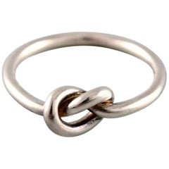"""Forget-me-knot"" Ring in Sterling Silver by Georg Jensen"