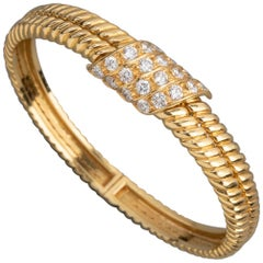 French Gold and Diamonds Bracelet