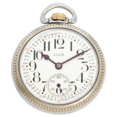 Elgin 571 BW Pocket Watch