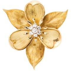 Tiffany & Co. Flower Pin