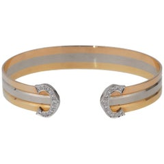 Cartier C de Cartier Diamond Cuff Bracelet