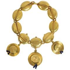 Hunt & Roskell Victorian Gold Nautical Motif Bracelet