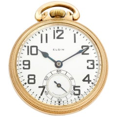 Elgin BW Raymond Pocket Watch