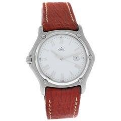 Authentic Men's Ebel 1911 Limited Left Handed Steel Quartz Watch