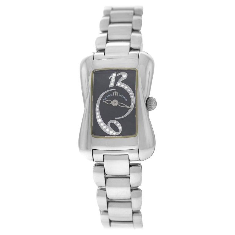 3c967f2f4bd New Ladies Maurice Lacroix Davina Diamond Quartz Watch For Sale. Brand  Chanel Model J12 H0685 Gender Ladies Condition Pre-owned ...