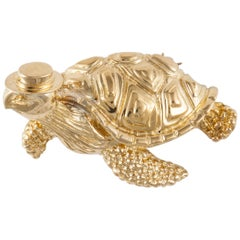 Tiffany & Co. Gold Turtle Pin