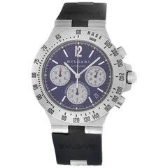 Men's Bvlgari Bulgari Diagono Automatic Steel Chrono Watch
