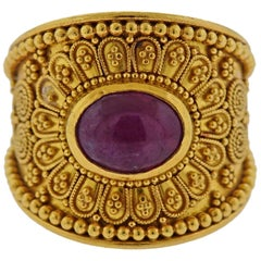 Lalaounis Greece Ruby Ring