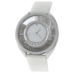 Versace Destiny Spirit Spheres Diamond Mother of Pearl Quartz Watch