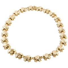 Tiffany & Co. 18 Karat Yellow Gold Necklace