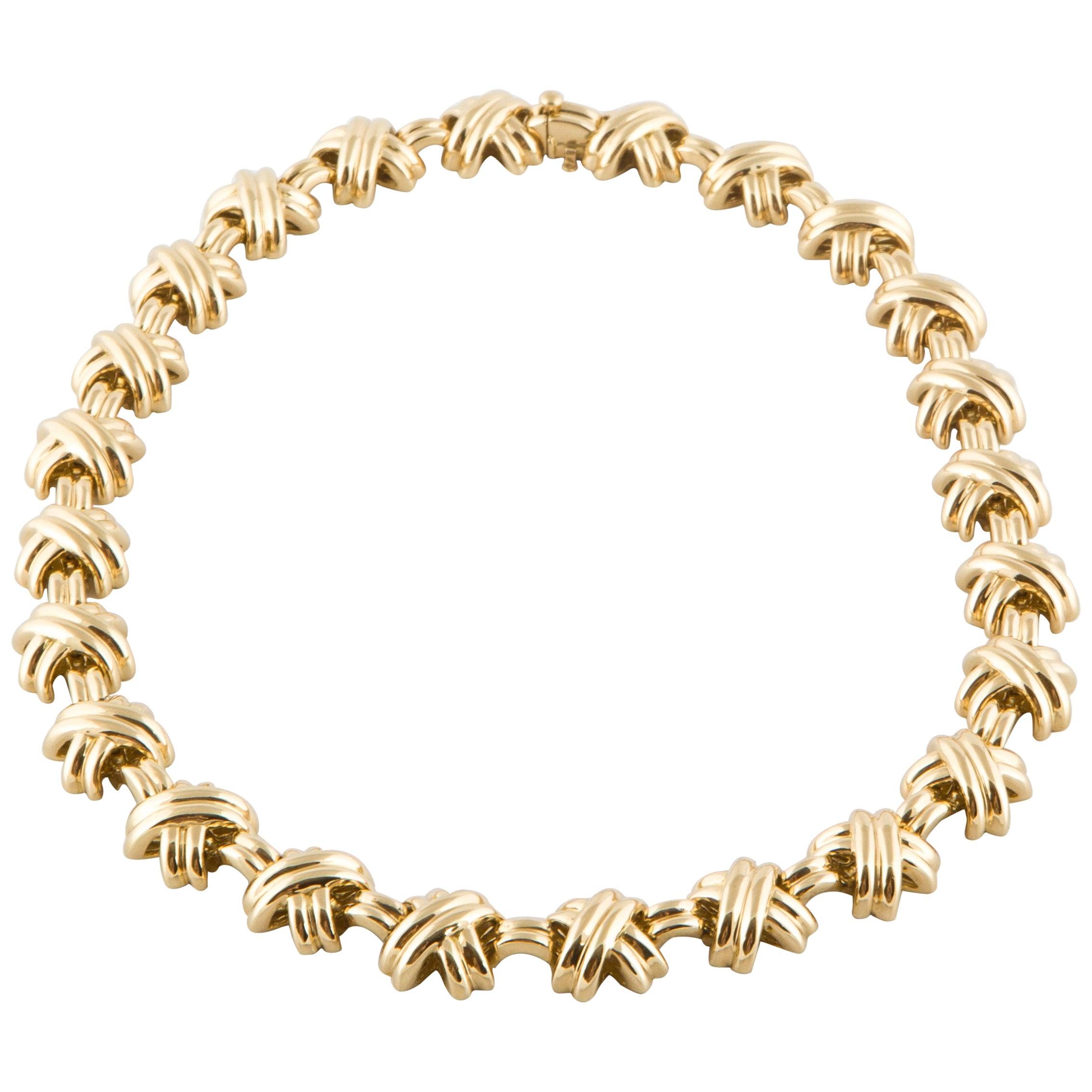 Tiffany & Co. 18 Karat Yellow Gold Necklace