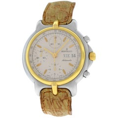 Men's Bertolucci Pulchra Steel Gold Automatic Chrono Watch