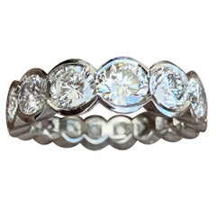 3.25 Carat Diamond Diva Eternity Band in Platinum, Ben Dannie