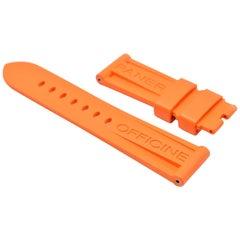 Panerai Orange Rubber Strap Ref#MXE07XDV